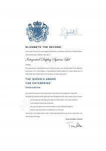 Queen's Award For Enterprise 2004