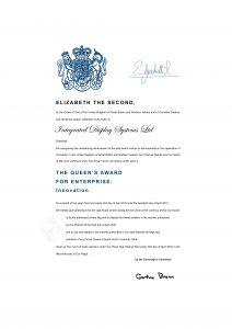 Queen's Award For Enterprise 2010