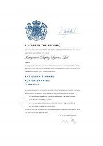 Queen's Award For Enterprise 2016