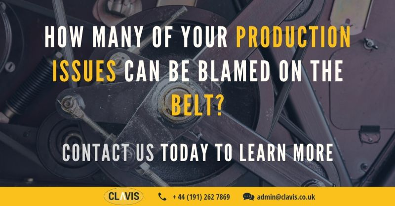Clavis's belt measurement systems can measure belt vibration to determine frequency and tension.