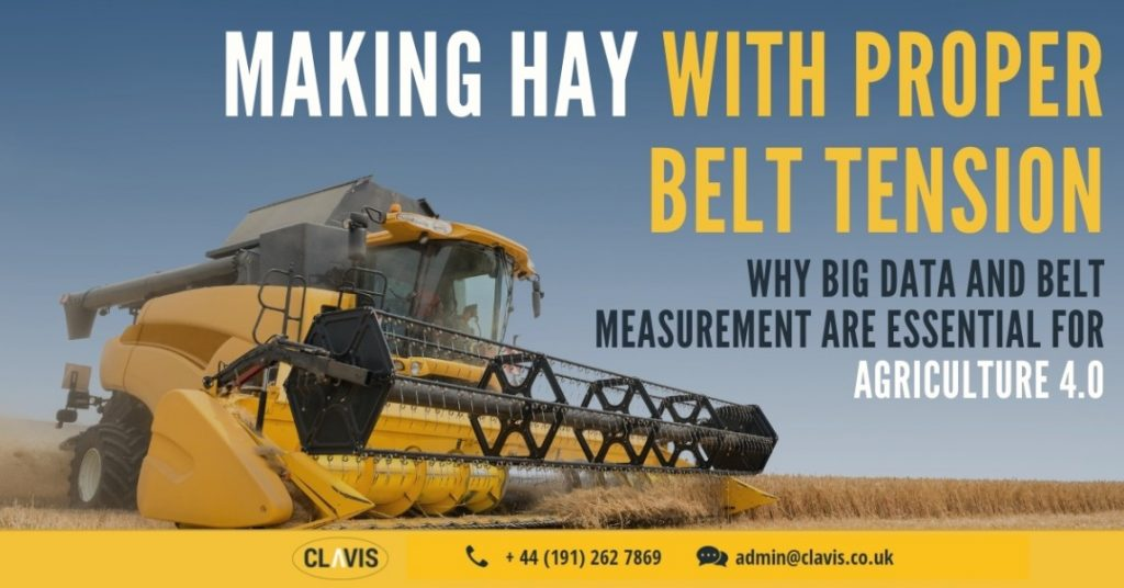 """Clavis's belt measurement systems can help farms properly embrace what many are calling """"Agriculture 4.0""""."""